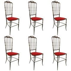 Chiavari Chairs Set of Six