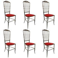 Chiavari Chairs Set of Six