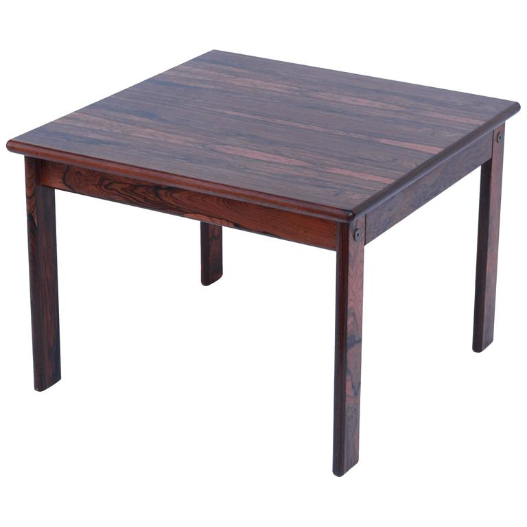 Mid-Century Modern Palisander Side Table For Sale