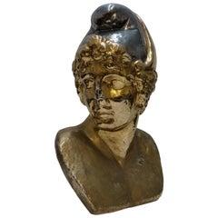 French Art Deco Roman Warrior Sculpture