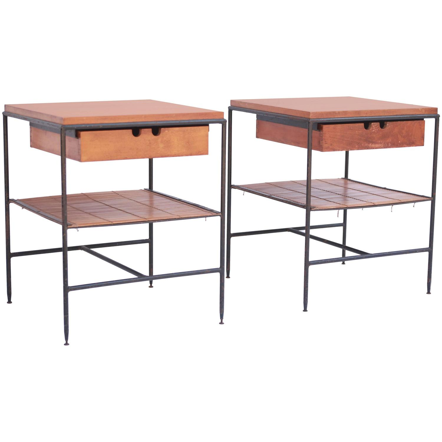 Paul McCobb Side Tables or Nightstands for Winchendon