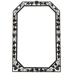 French Art Deco Grape Mirror Frame