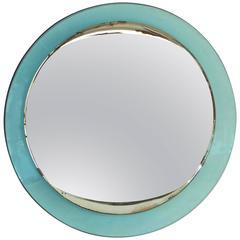 1940s Fontana Arte Round Mirror