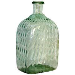 Barocke Wasserflasche, um 1750, Absolute Rarität