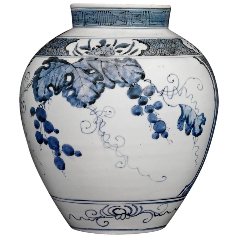 17th Century Porcelain Imari Vase At 1stdibs