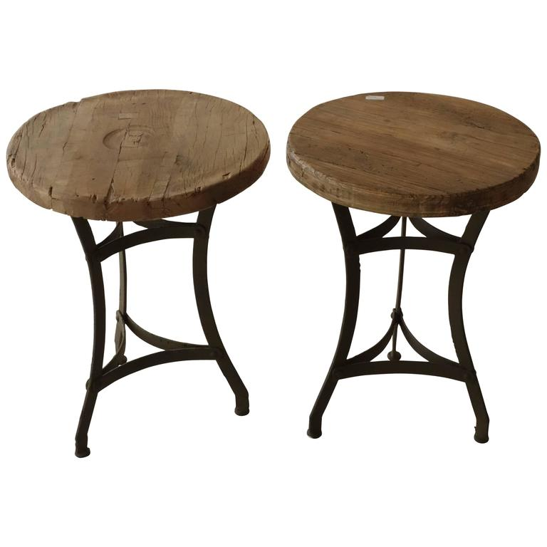 Antique wood side tables for sale at stdibs