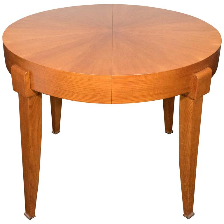 French Marquetry Table For Sale