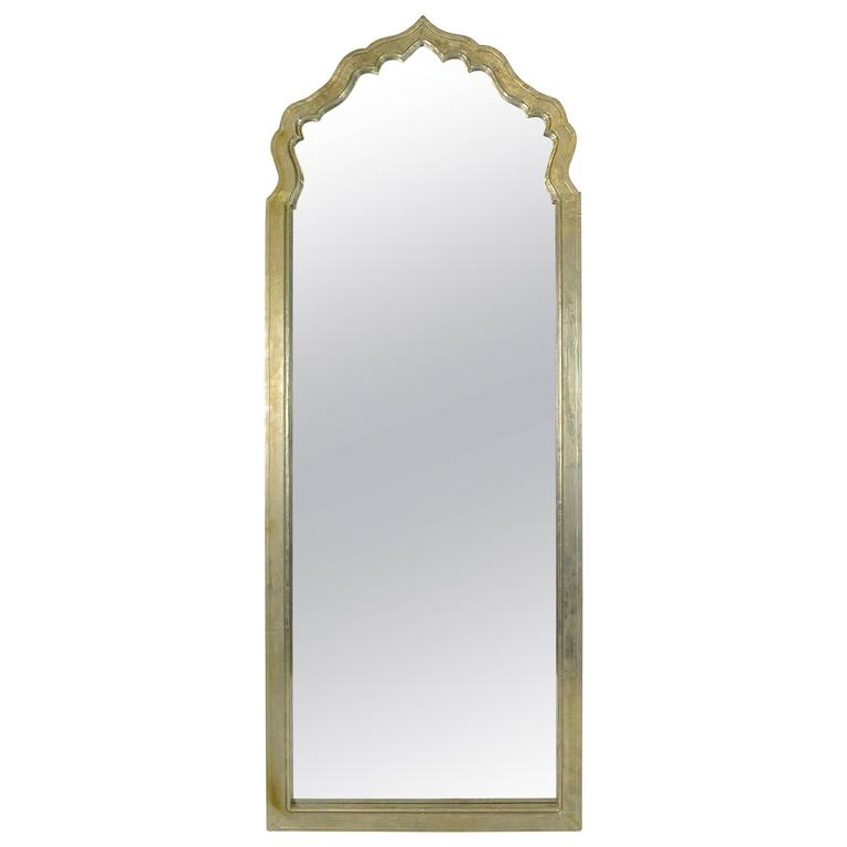 Large Arched Moroccan Mirror For