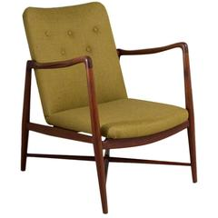 Rare Danish Armchair by Finn Juhl Model B0-59