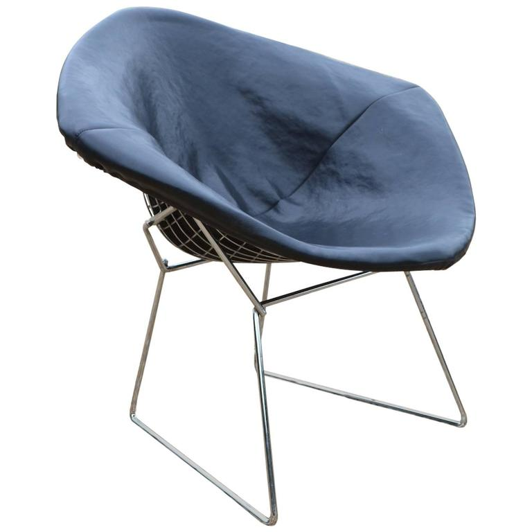 harry bertoia for knoll wire diamond chair for sale at 1stdibs. Black Bedroom Furniture Sets. Home Design Ideas