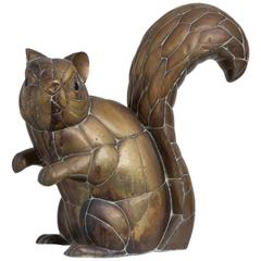 Copper and Brass Squirrel by Sergio Bustamante 11/100