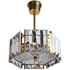 Scandinavian Modern Pendant by Carl Fagerlund for Swedish Glassmaker Orrefors