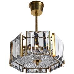Hexagonal Pendant by Carl Fagerlund for Orrefors