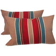 Early Pendleton Cayuse Camp Blanket Pillows