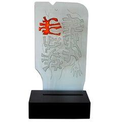 Robert Willson Glass Sculpture