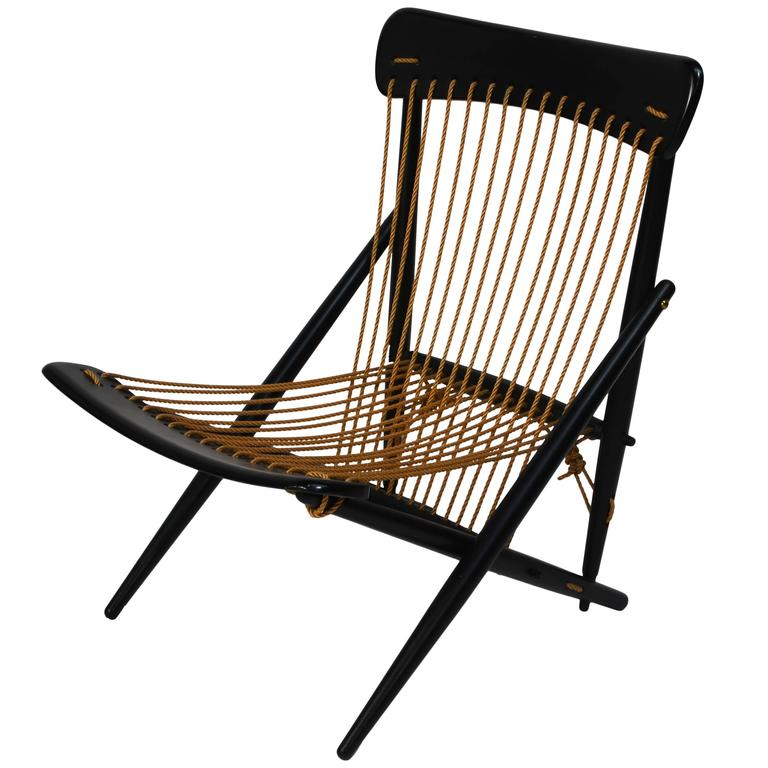 Exquisite Japanese Rope Lounge Chair By Maruni 1955 At 1stdibs