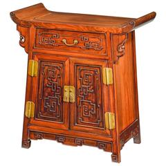 Wonderful Chinese Hardwood Side Cabinet