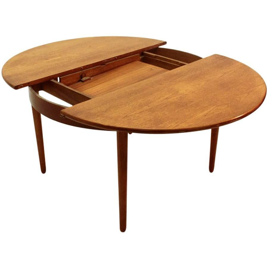Italian Mid Century Teak Dining Table 1960s At 1stdibs