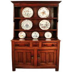Antique Oak Dresser and Rack