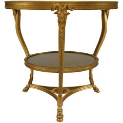 Turn of the Century Louis XVI Style End Table - 1stdibs New York