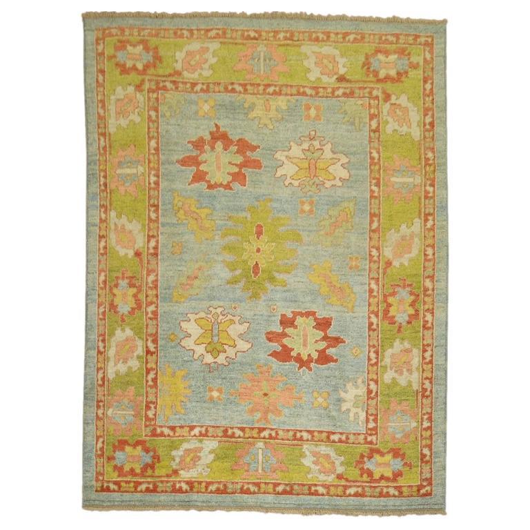 Turkish Oushak Carpet 1