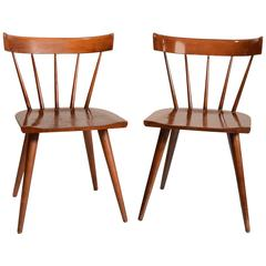 Set of Two Planner Group Dining Chairs by Paul McCobb for Winchendon Furniture