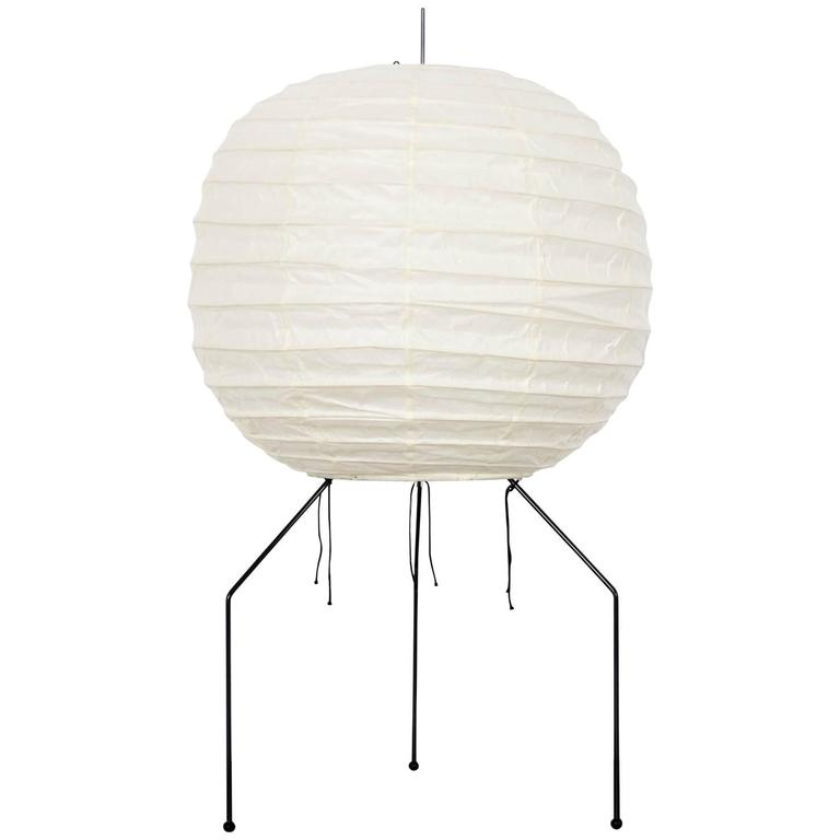 object rice lamp table posts akari s iconic and isamu noguchi paper lights globe lamps lessons remodelista nest