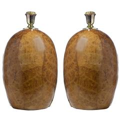 Tobacco Leaf Table Lamps