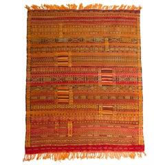 Rare Old Tuareg Silk Mat