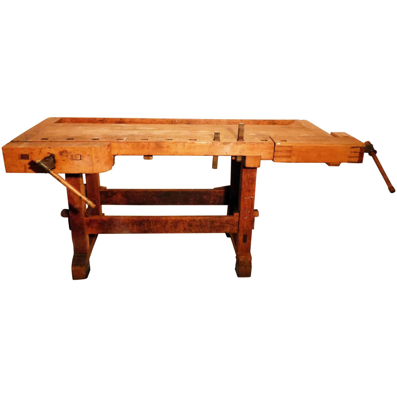 Awesome PDF DIY Vintage Workbench For Sale Download Antique
