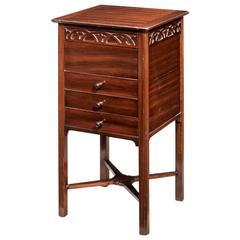 Mid-20th Century Mahogany Work Table