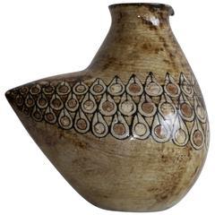 Malarmey -  Rare Zoomorphic Ceramic - Vallauris France, c. 1960
