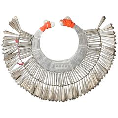 Lisu Tribe Silver Collar Necklace