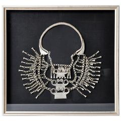 H'mong Tribe Silver Spirit Lock Necklace