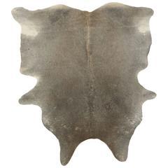 Gray Brazilian Cowhide Rug