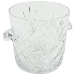 French Crystal Ice Bucket