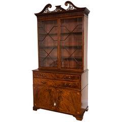 Mahogany Bookcase, George III Period, 18th Century