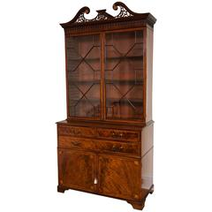 George III Period Mahogany Bookcase