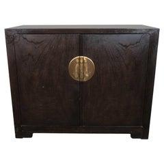 Baker Asian Inspired Ebonized Cabinet