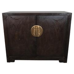 Baker Asian Inspired Ebonized Cabinet