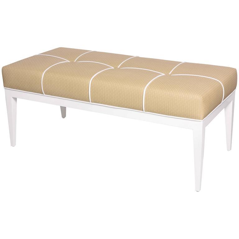 Studio-Built Bedroom Bench