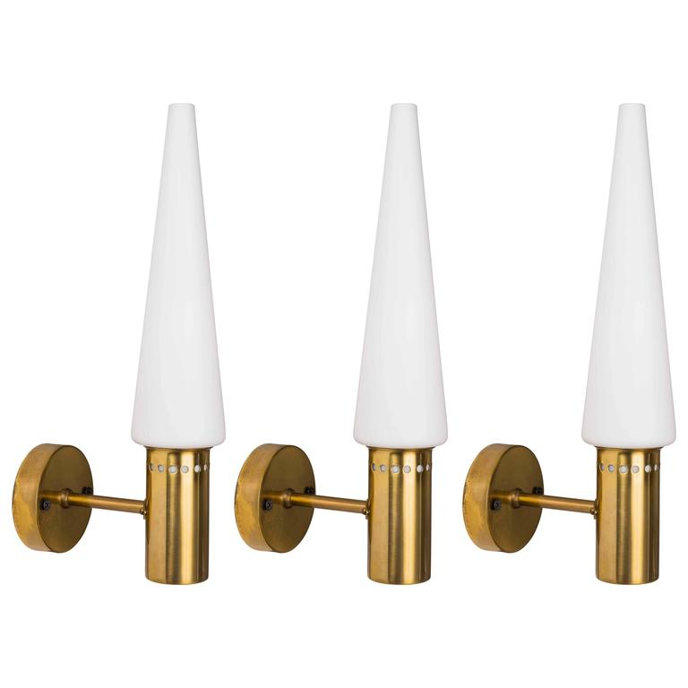 1960s Hans-Agne Jakobsson Sconces for Markyard