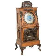 1907 Caille Venus Upright Slot Machine with Music
