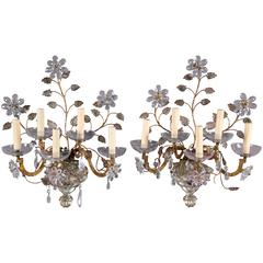 1930s French Gilt Sconces