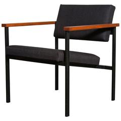 t'Spectrum Style Minimal Industrial Lounge Chair