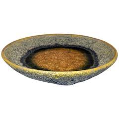 Beatrice Wood Lo Bowl with Volcanic Glaze