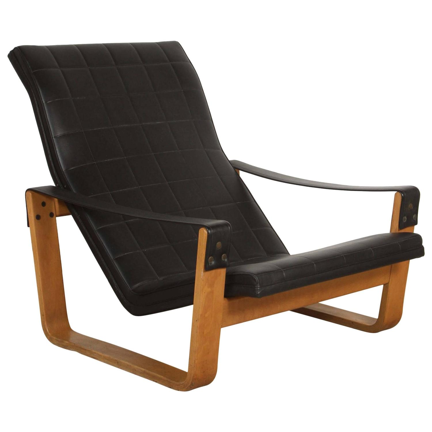 ilmari lappaleinen sessel pulkka lounge chair for asko 1967 for sale at 1stdibs. Black Bedroom Furniture Sets. Home Design Ideas