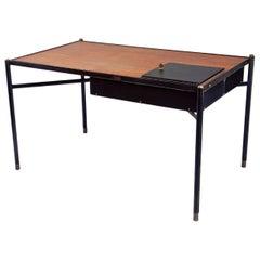 Desk by Jacques Adnet (1900-1984), France, c. 1940