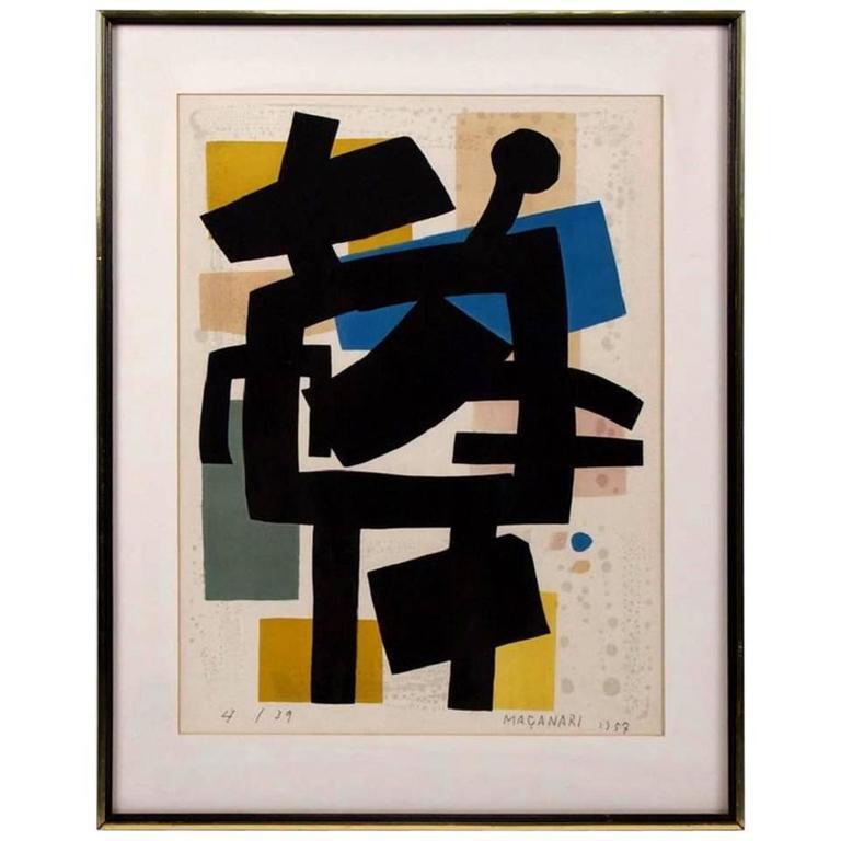 Hand Signed Limited Edition Lithograph by Masanari Murai