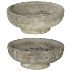 "Extra Large (Dia 32"") English Garden Low Planters - Priced Individually"